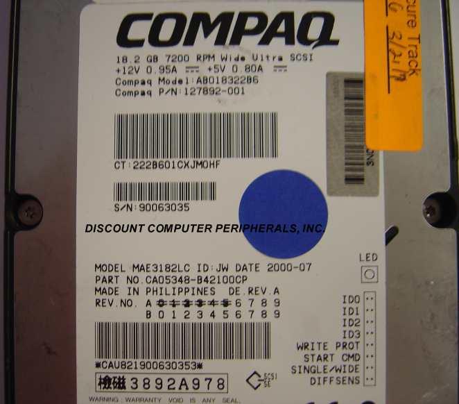 Compaq 127892-001