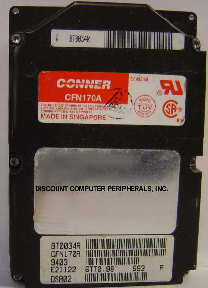 Conner CFN170A