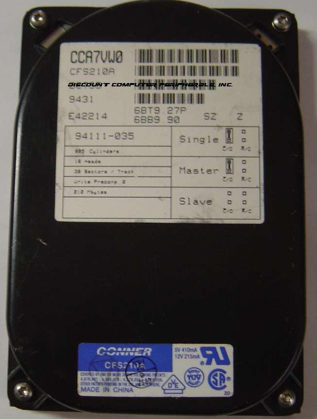 Conner CFS210A