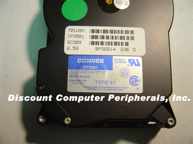Conner CP3501