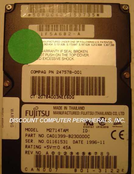 Fujitsu M2714TAM