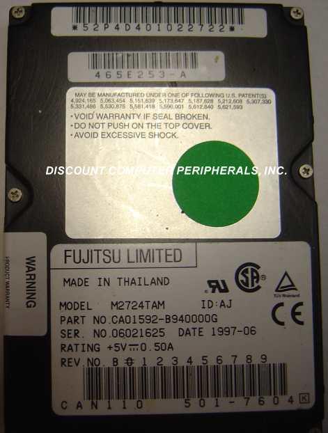 Fujitsu M2724TAM