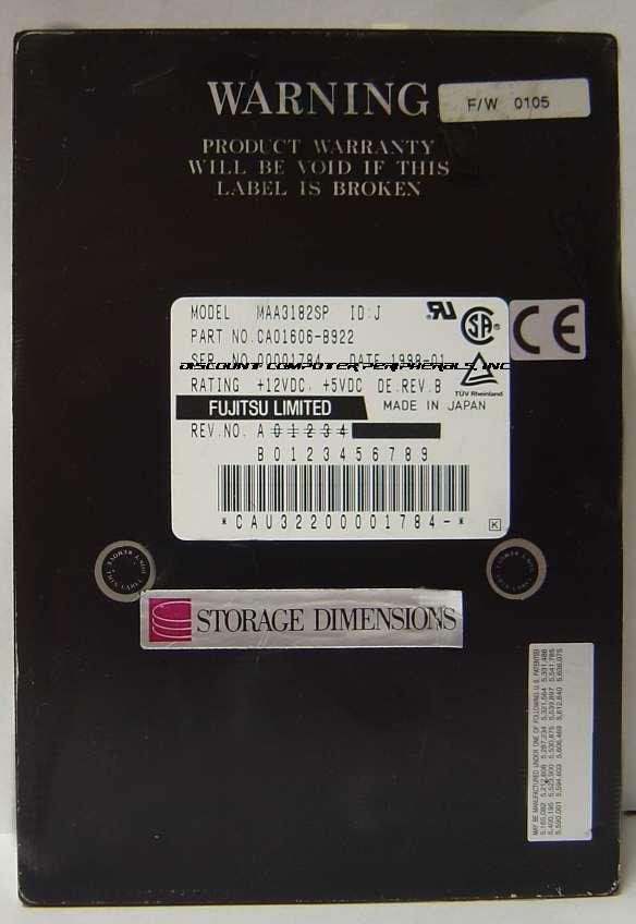 Fujitsu MAA3182SP