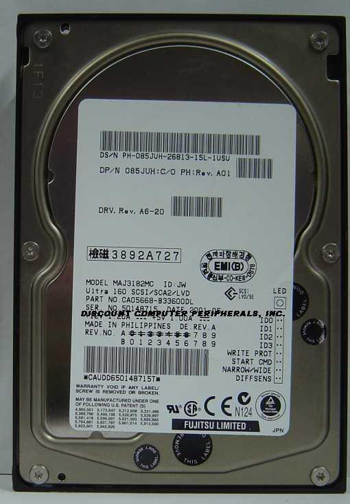 Fujitsu MAJ3182MC