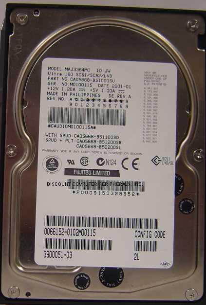Fujitsu MAJ3364MC