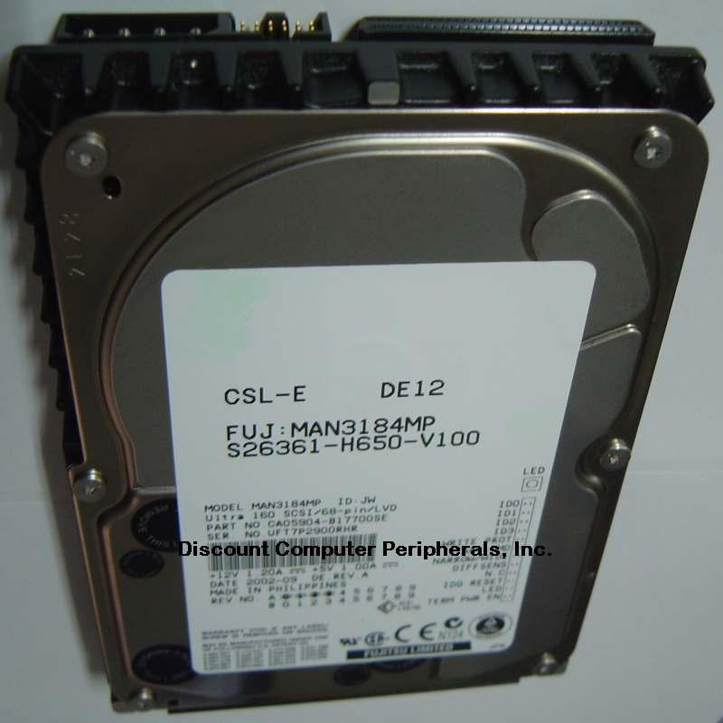 Fujitsu MAN3184MP