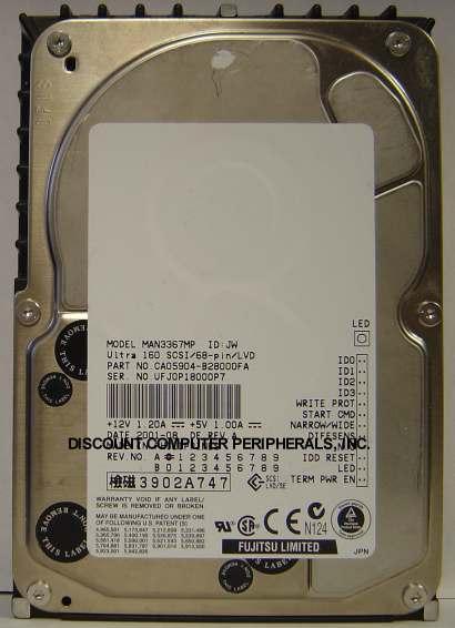 Fujitsu MAN3367MP