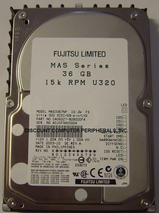 Fujitsu MAS3367NP