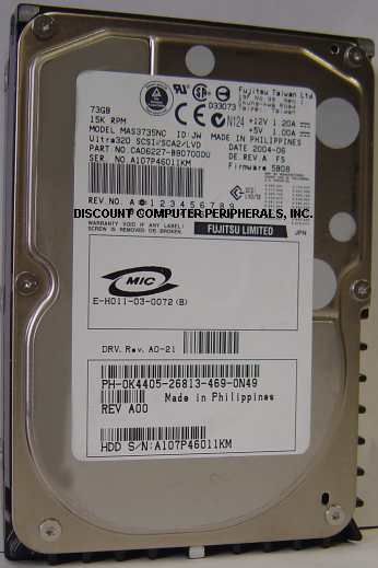 Fujitsu MAS3735NC