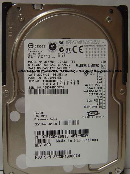 Fujitsu MAT3147NP