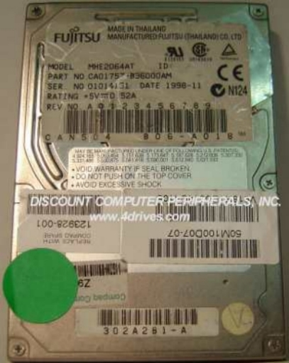 Fujitsu MHE2064AT