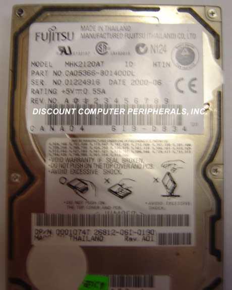 Fujitsu MHK2120AT