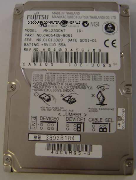 Fujitsu MHL2300AT
