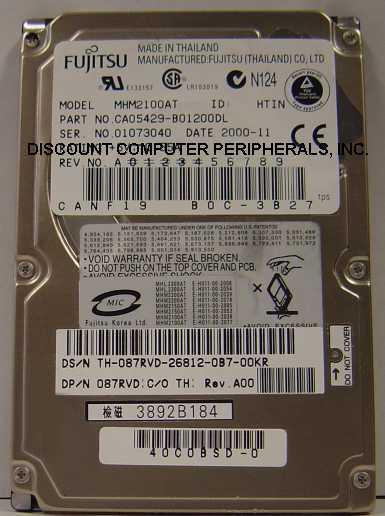 Fujitsu MHM2100AT
