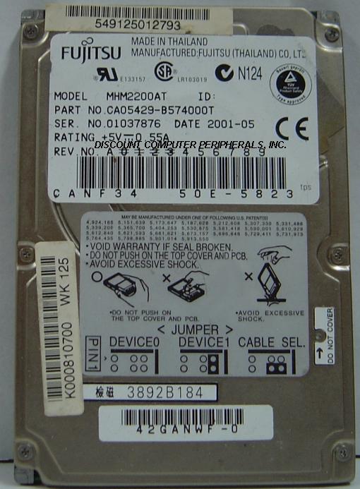 Fujitsu MHM2200AT