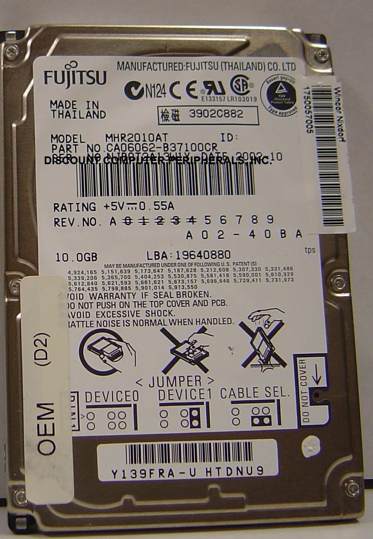 Fujitsu MHR2010AT