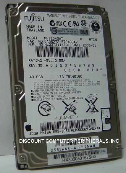 Fujitsu MHS2040AT