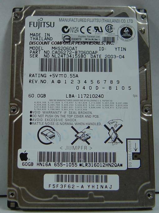 Fujitsu MHS2060AT