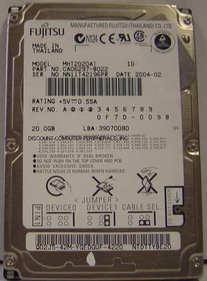 Fujitsu MHT2020AT
