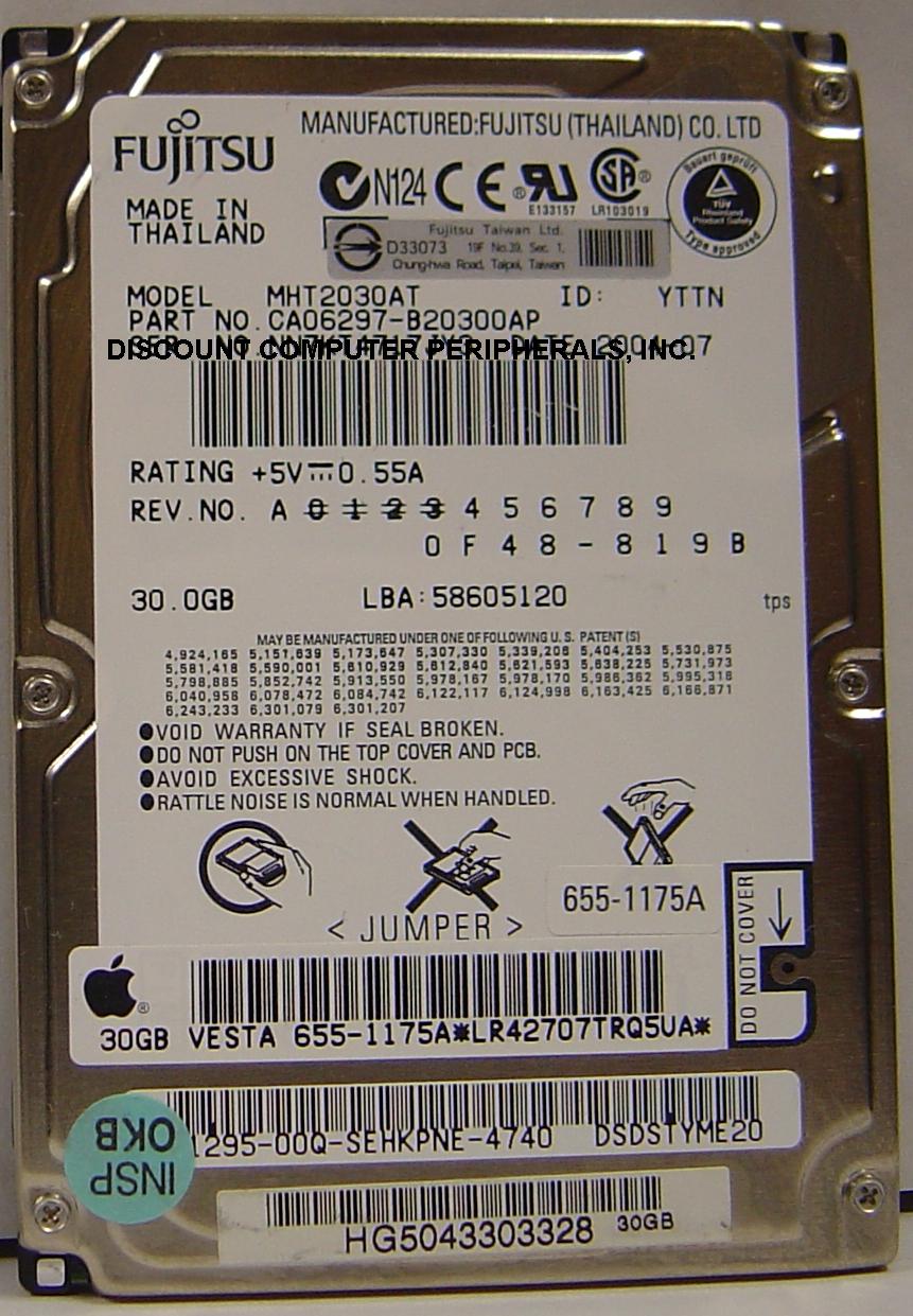 Fujitsu MHT2030AT