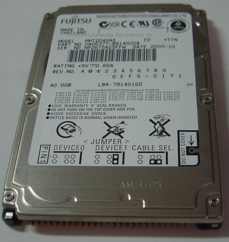 Fujitsu MHT2040AS_NEW