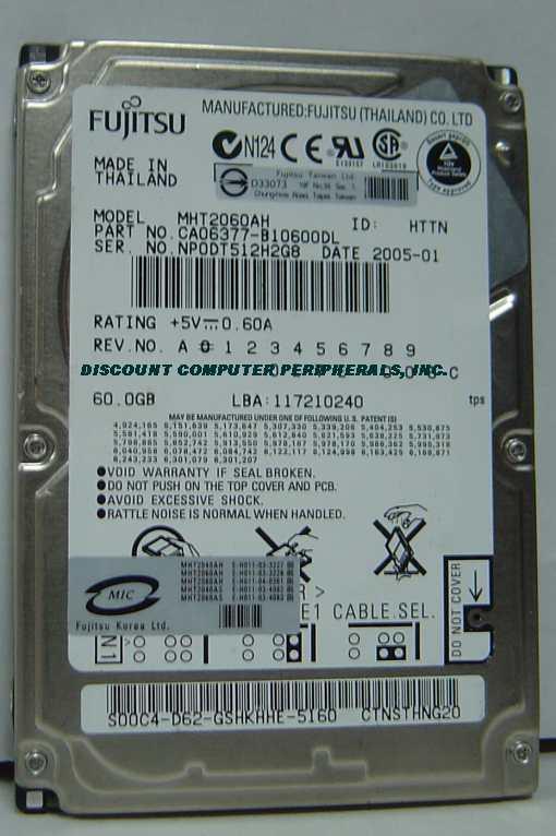 Fujitsu MHT2060AH