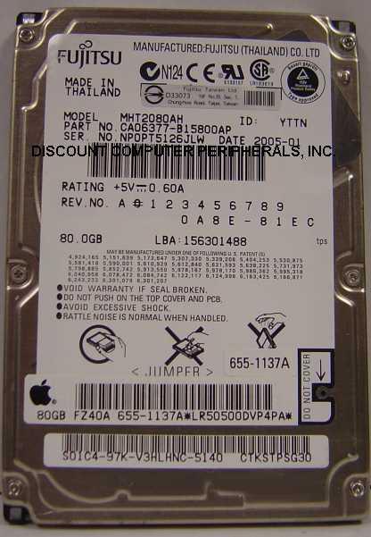 Fujitsu MHT2080AH