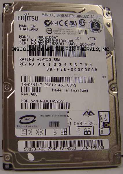 Fujitsu MHU2100AT