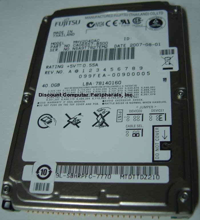 Fujitsu MHV2040AC