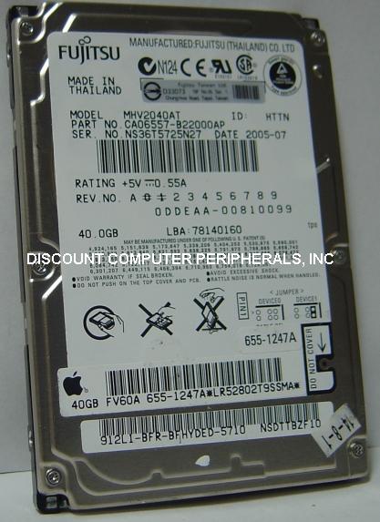 Fujitsu MHV2040AT