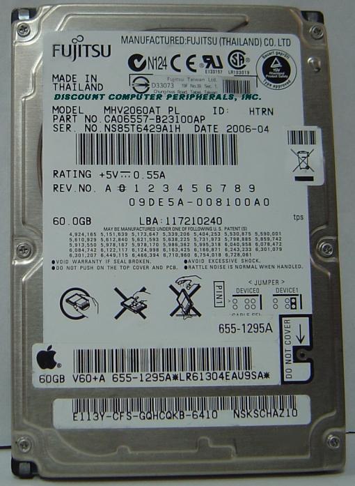 Fujitsu MHV2060AT