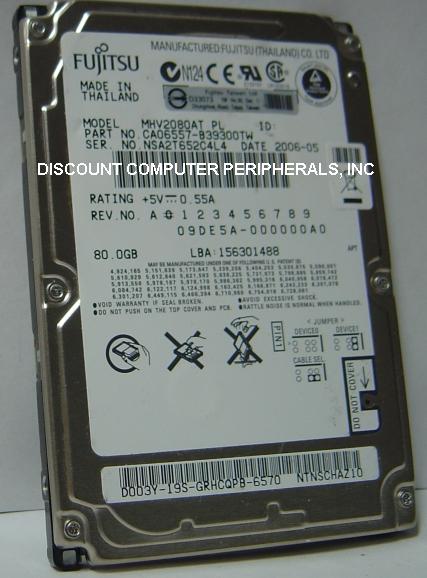 Fujitsu MHV2080AT