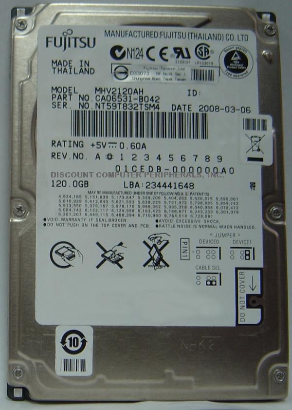 Fujitsu MHV2120AH