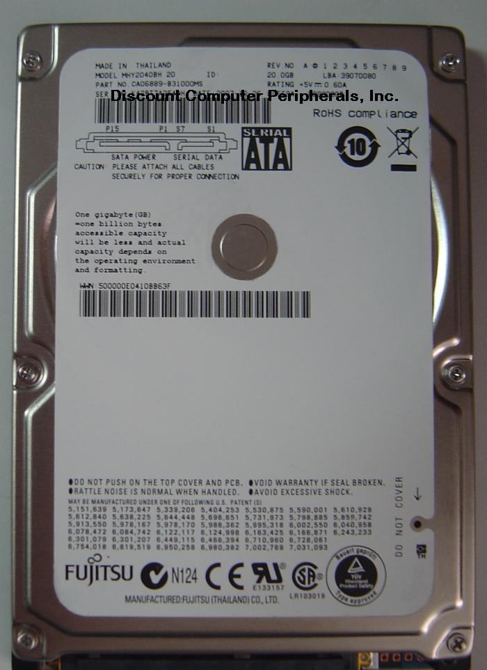Fujitsu MHY2040BH_20GB