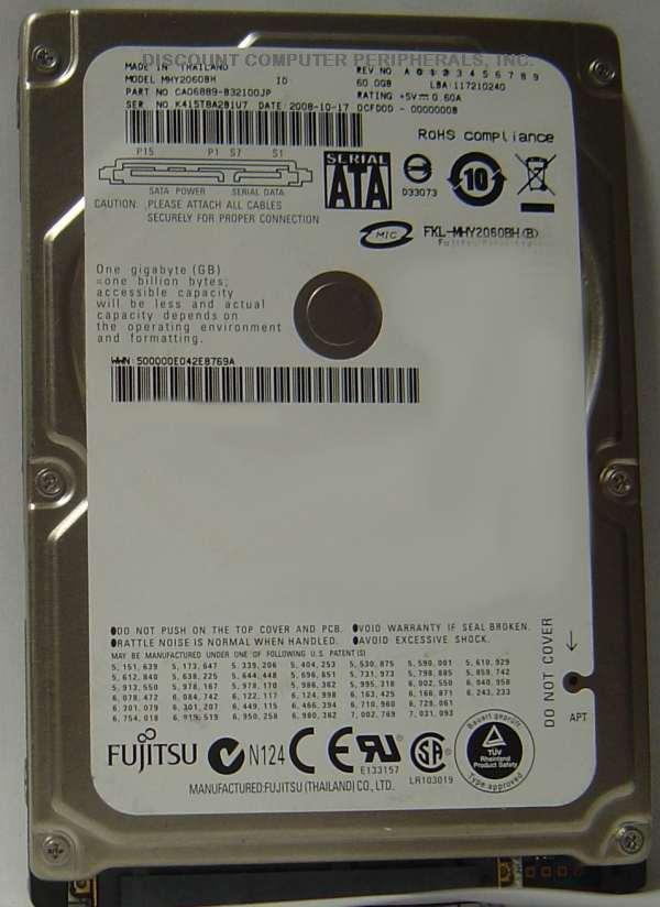 Fujitsu MHY2060BH