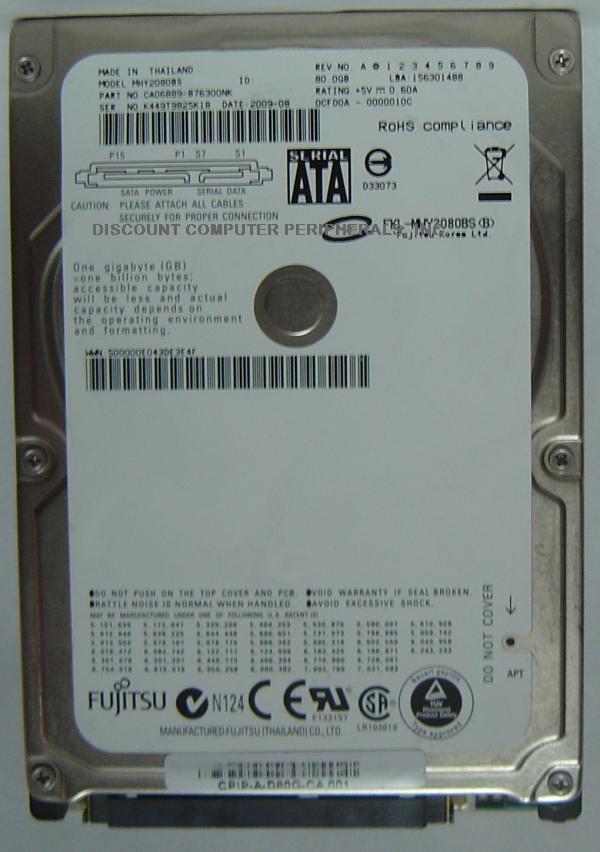 Fujitsu MHY2080BS