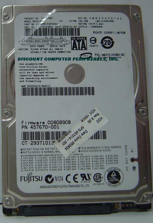 Fujitsu MHY2160BH