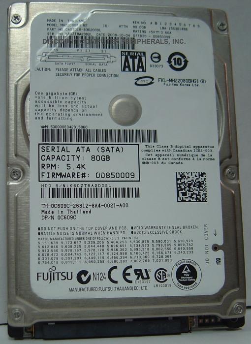 Fujitsu MHZ2080BH_NEW