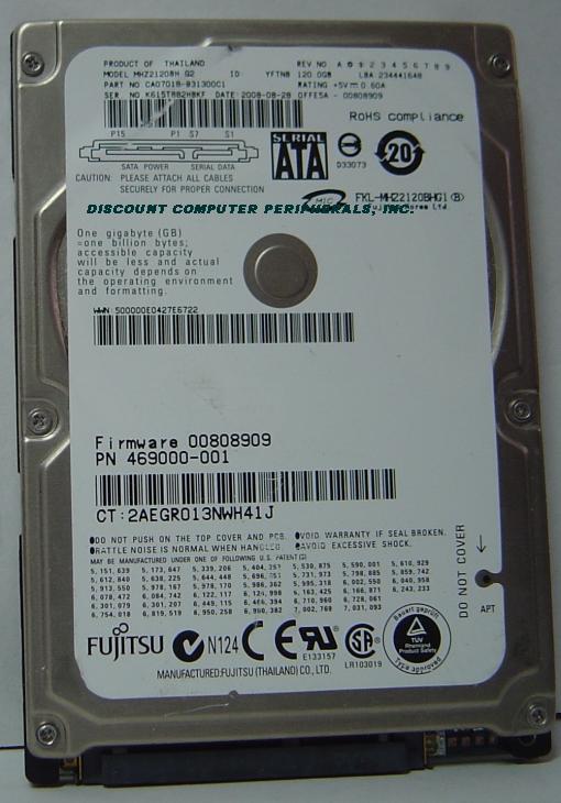 Fujitsu MHZ2120BH