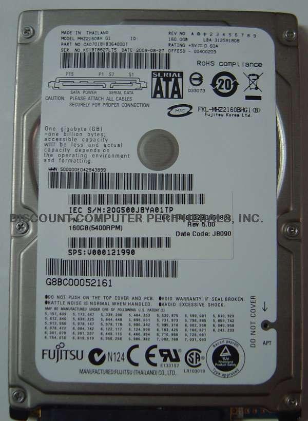 Fujitsu MHZ2160BH