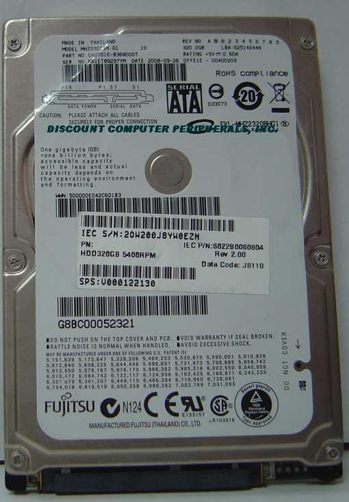 Fujitsu MHZ2320BH