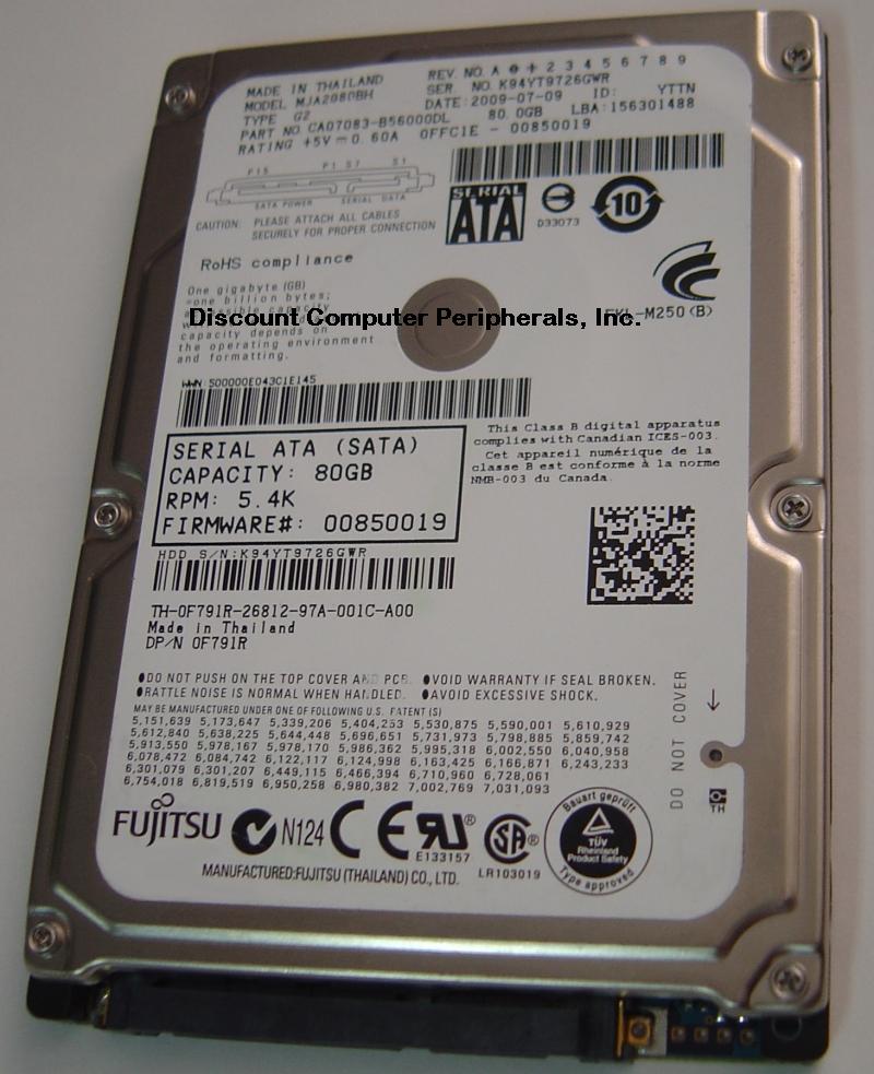 Fujitsu MJA2080BH