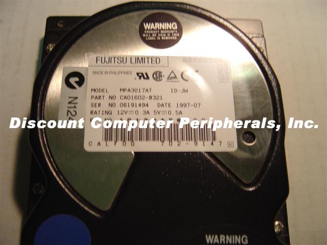 Fujitsu MPA3017AT