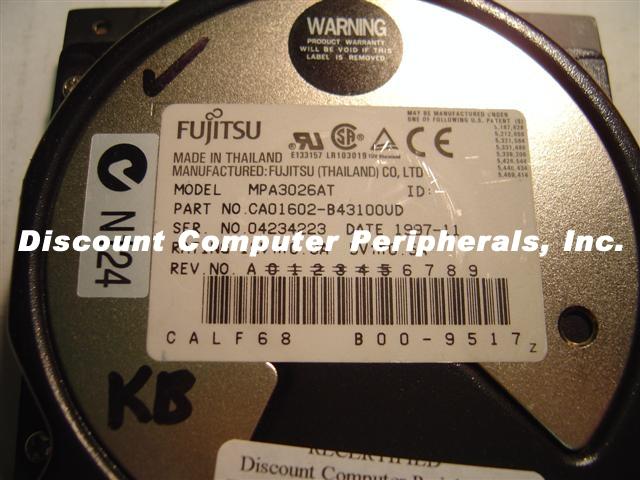 Fujitsu MPA3026AT