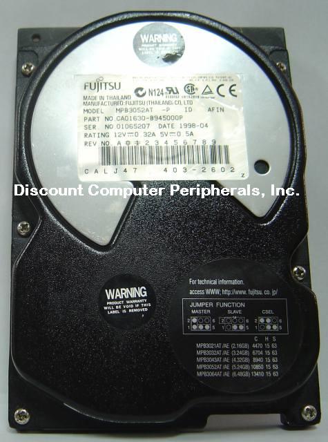 Fujitsu MPB3052AT