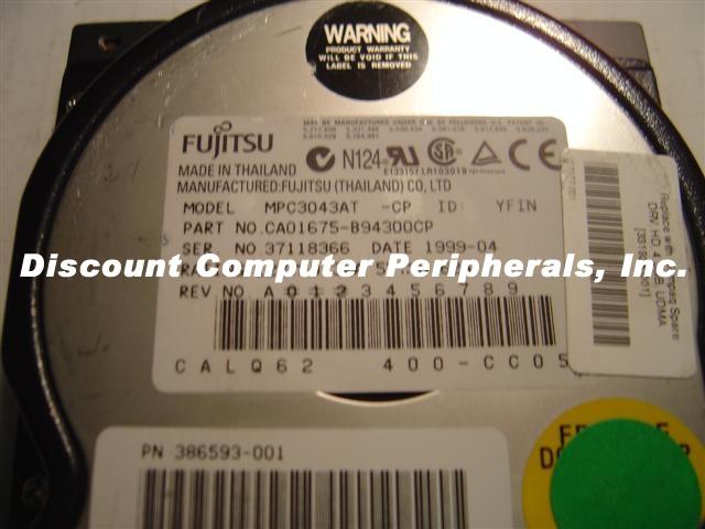 Fujitsu MPC3043AT