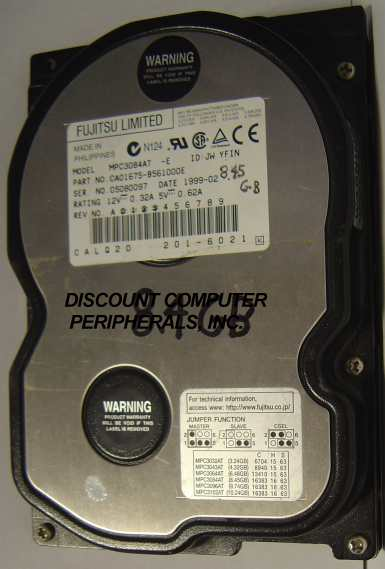 Fujitsu MPC3084AT