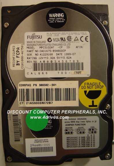 Fujitsu MPC3102AT