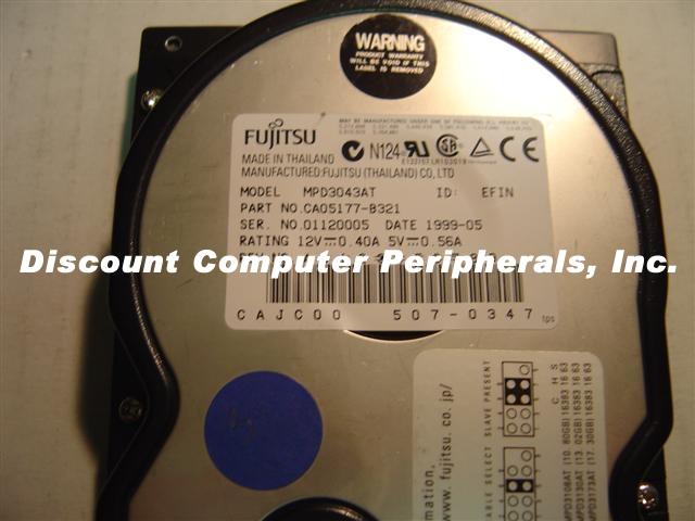 Fujitsu MPD3043AT