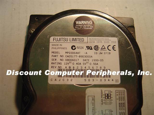 Fujitsu MPD3064AT